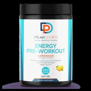 Energy Pre-Workout Lemonade