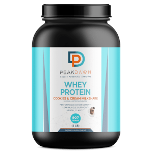 2lb Whey Cookies and Cream - 28 servings - Website